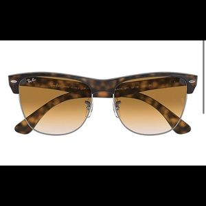 Ray Ban Club Master Oversized Sunglasses